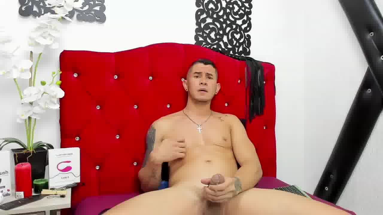Private Show  Stroking Cock