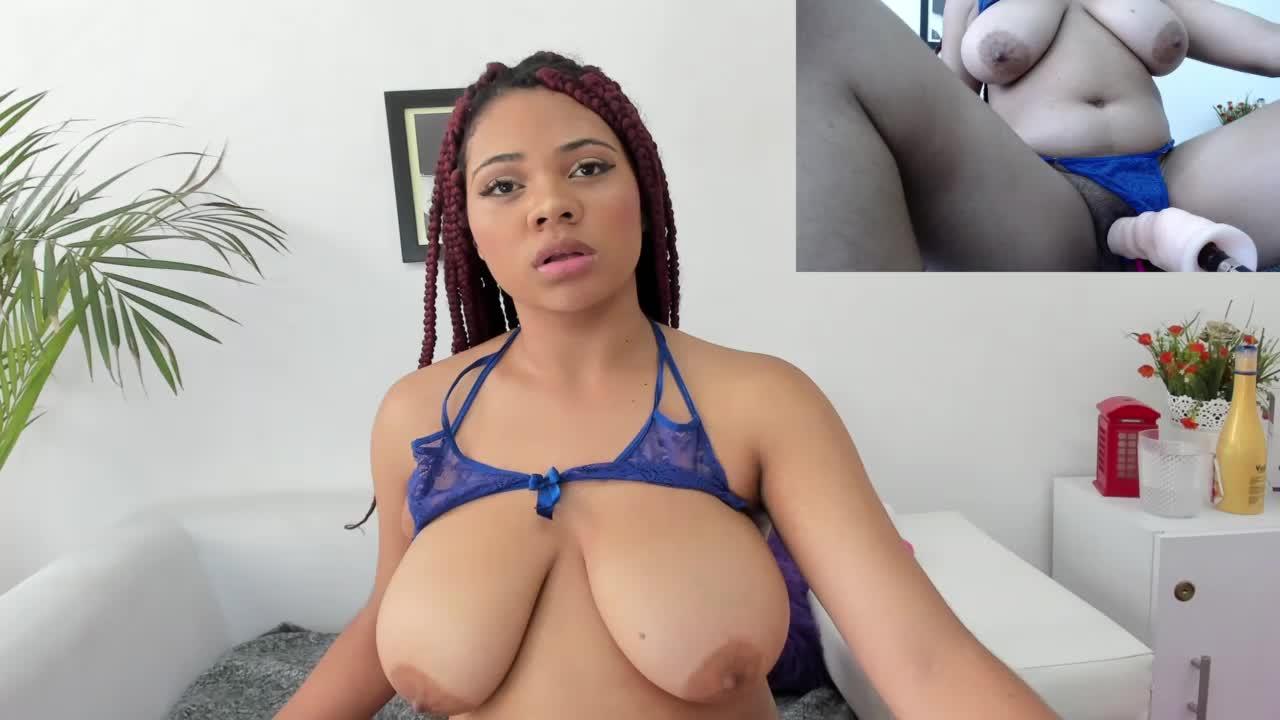 tits and fuck machine