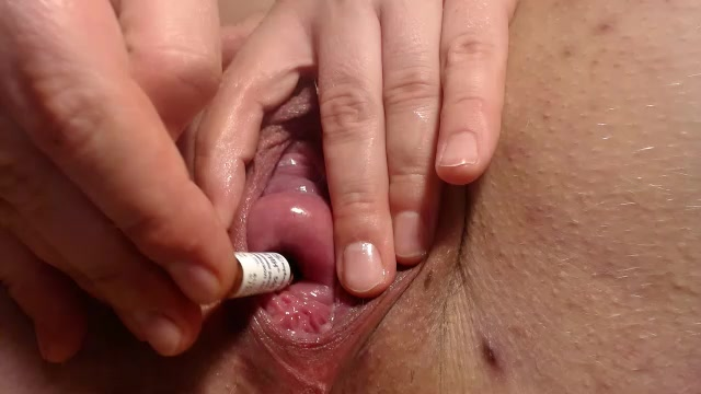 Anal,pussy fuck huge toys, cervix fuck